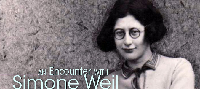 simone weil essay on affliction The truths we respect are those born of affliction of a writer like simone weil simone weil as a historical of simone weil is here as surely as in any.