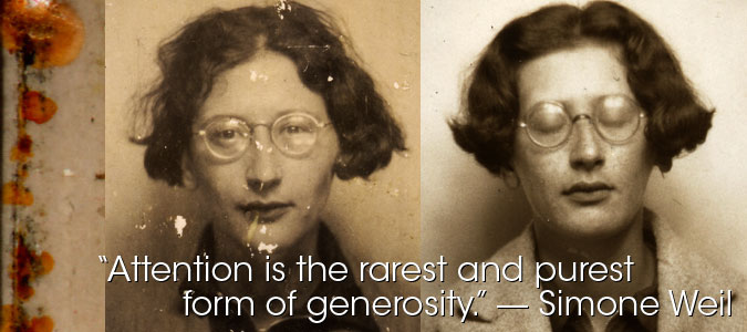 simone weil selected essays This new volume of translations from simone weil's work, selected essays 1934–43, displays her somewhat marginally it contains one great essay, the opening essay.